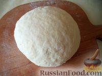 Фото к рецепту: Тесто для постных пирогов (дрожжевое)