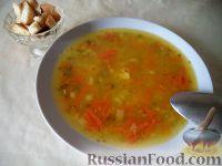 Фото к рецепту: Простой суп гороховый  (постный)