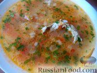 """Фото к рецепту: Суп """"Харчо"""" со свежими помидорами"""