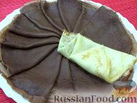 Фото к рецепту: Шоколадные блины