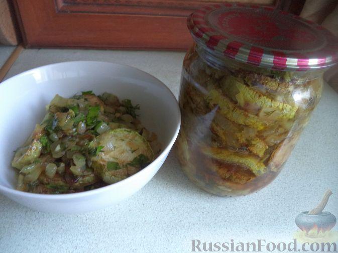 Рецепт Пикантные кабачки на зиму