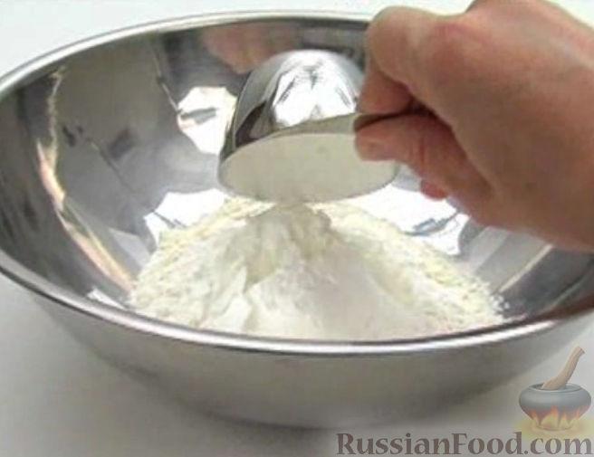 Рецепты из ветчины и сыра и теста в духовке