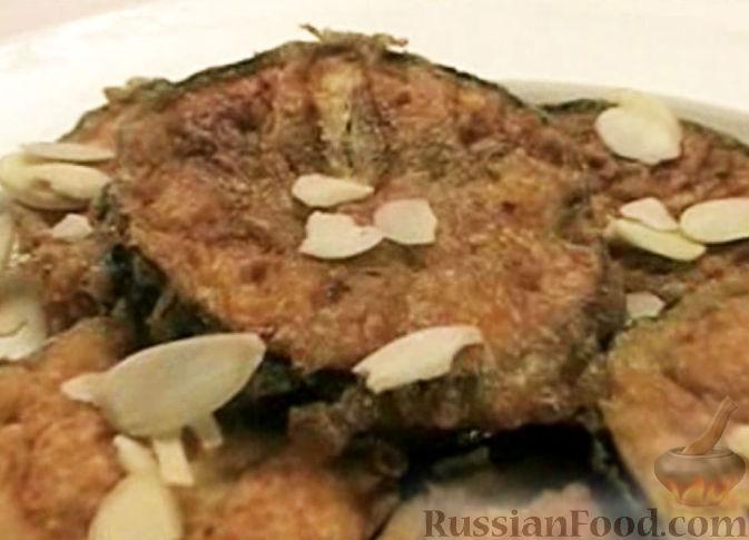 Рецепт Баклажаны с миндалем