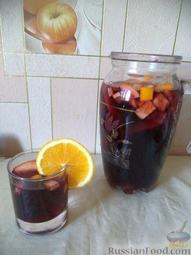 Рецепт Домашняя сангрия из кагора