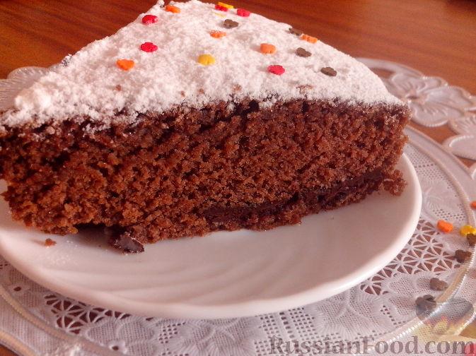 Рецепт Шоколадный манник