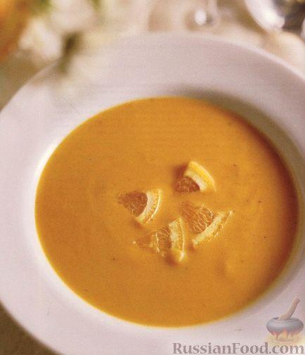 Рецепт Суп-пюре из печеного перца