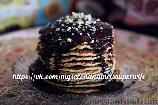 Рецепт Панкейки (американские блинчики) без яиц