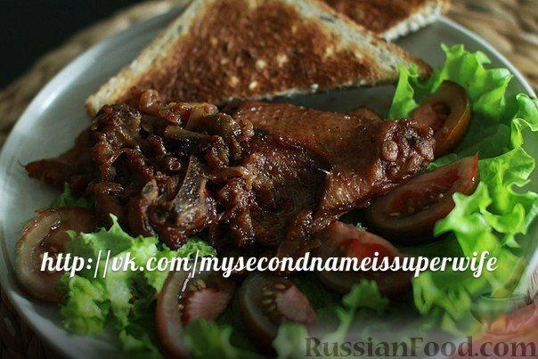 Рецепт Утка в медово-яблочном соусе