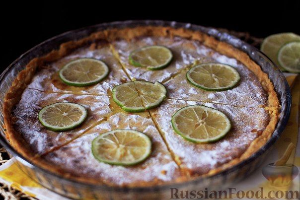Рецепт Лаймовый пирог (Key Lime Pie)