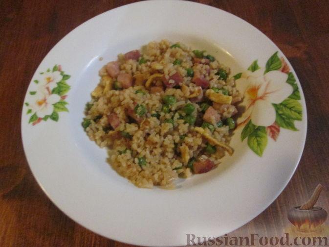 Рецепт Рис по-кантонски