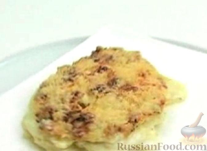 Рецепт Картофель, запеченный со сливками и сыром