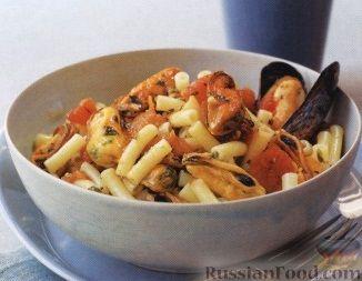 Рецепт Паста с мидиями