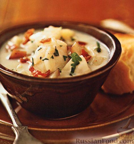 Рецепт Суп из палтуса