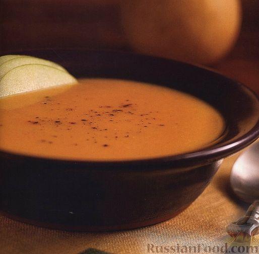 Рецепт Тыквенный суп-пюре с грушей