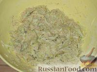 Фото приготовления рецепта: Оладьи из кабачков простые - шаг №4