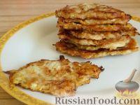 Фото приготовления рецепта: Оладьи из кабачков простые - шаг №7