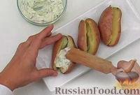 Фото приготовления рецепта: Печеный картофель с сыром - шаг №7