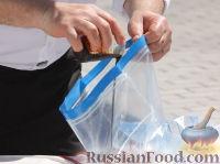 Фото приготовления рецепта: Мини-шашлыки из лосося, курицы и телятины в соусе терияки - шаг №3