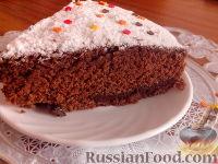 Фото к рецепту: Шоколадный манник