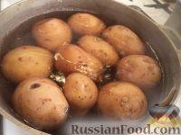 Фото приготовления рецепта: Картофельники с куриным мясом - шаг №2
