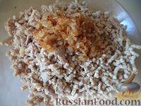 Фото приготовления рецепта: Картофельники с куриным мясом - шаг №8