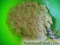 Фото приготовления рецепта: Картофельники с куриным мясом - шаг №9