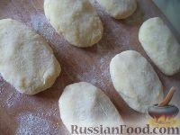 Фото приготовления рецепта: Картофельники с куриным мясом - шаг №11