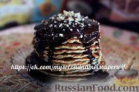 Фото к рецепту: Панкейки (американские блинчики) без яиц