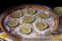 Фото к рецепту: Лаймовый пирог (Key Lime Pie)