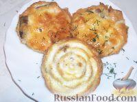 Фото к рецепту: Рыбка в сырном суфле
