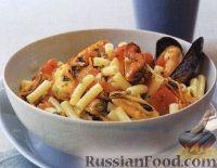 Фото к рецепту: Паста с мидиями