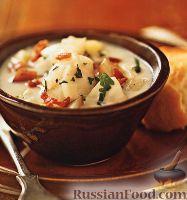 Фото к рецепту: Суп из палтуса