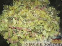 Фото к рецепту: Артишоки с картофелем и грибами