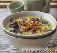 Фото к рецепту: Куриный суп-пюре на кокосовом молоке