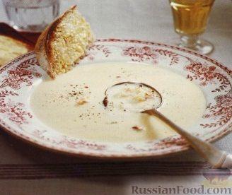 Рецепт Крабовый суп-пюре