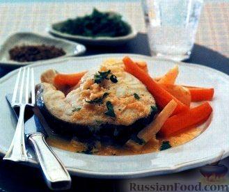 Рецепт Треска с овощами (на пару)