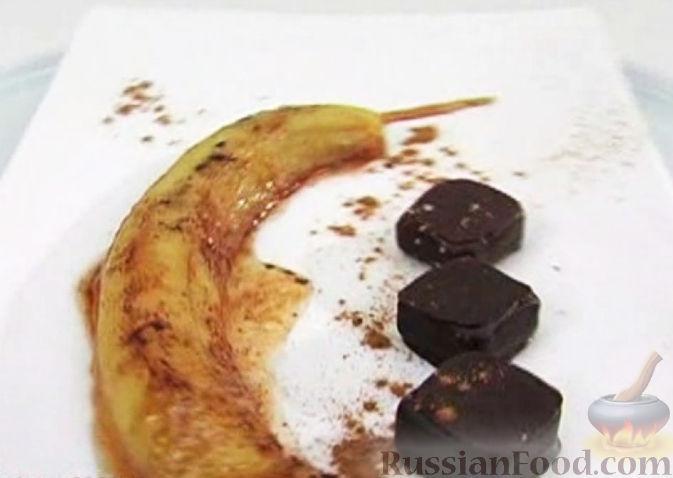 Рецепт Печеный банан с медом