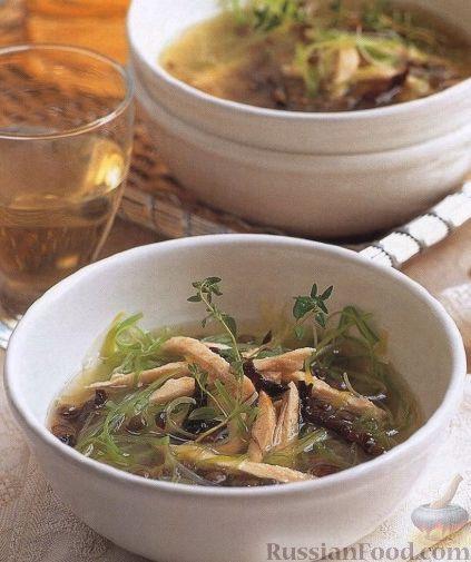Рецепт Суп чечевичный с черносливом и пореем