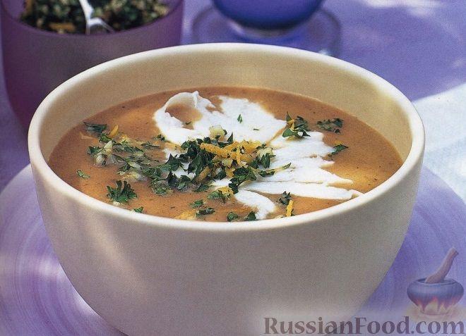 Рецепт Баклажановый суп-пюре