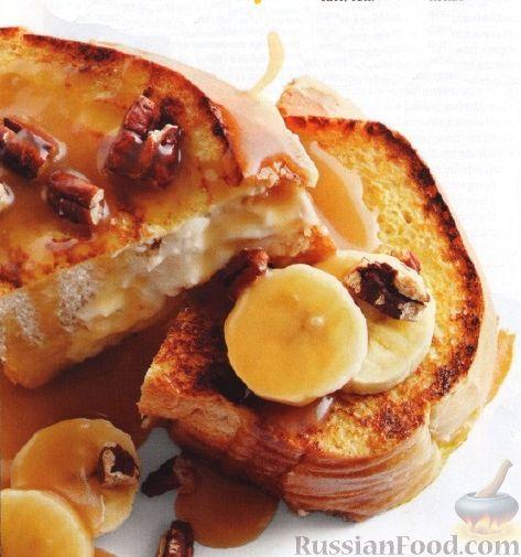 Рецепт Французские тосты с сыром