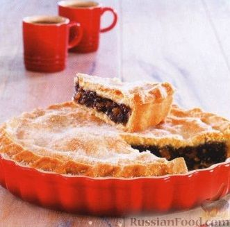 Рецепт Пирог со смородиной и цукатами