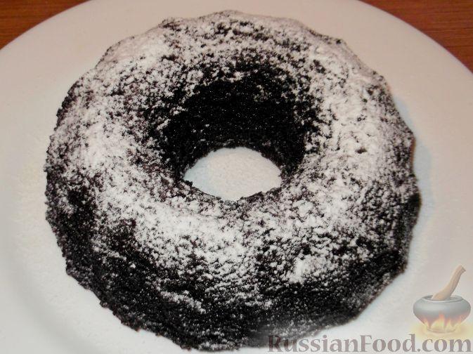Рецепт Шоколадный кекс из цельнозерновой муки