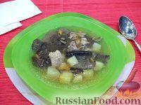 Фото к рецепту: Грибной суп с мясом