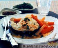 Фото к рецепту: Треска с овощами (на пару)