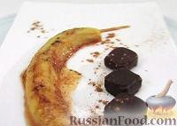 Фото к рецепту: Печеный банан с медом