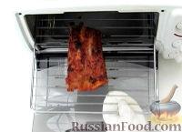 Фото к рецепту: Ребрышки в соусе барбекю