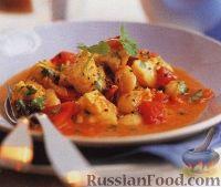 Фото к рецепту: Треска в томатном соусе