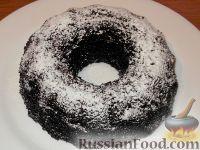 Фото к рецепту: Шоколадный кекс из цельнозерновой муки