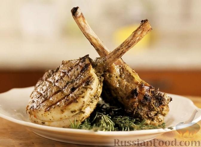 Рецепт Свинина на кости с прованскими травами