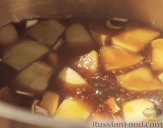 Фото приготовления рецепта: Творожно-яблочные лепешки - шаг №8